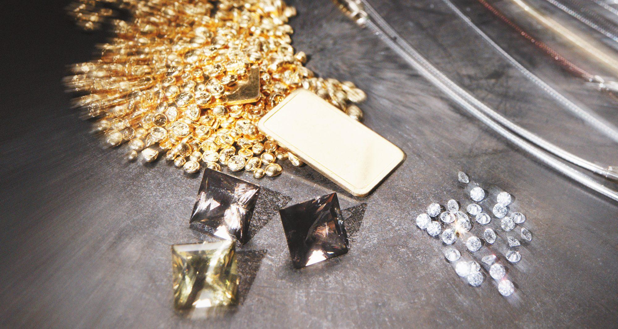 Foto der Materialien für die Fertigung in der Manufaktur Ableitner