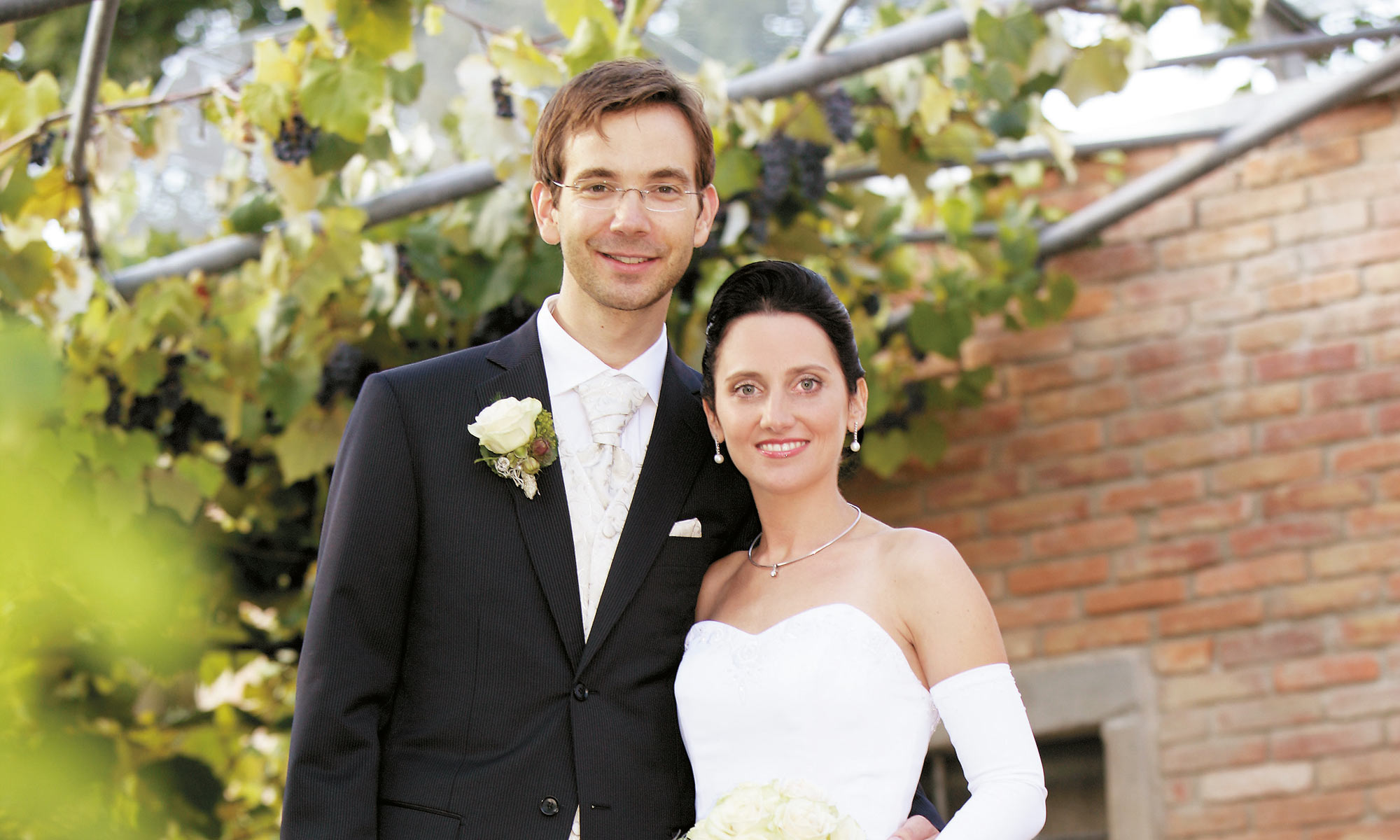 Foto von Manuela & Andreas Ableitner an Ihrem Hochzeittag