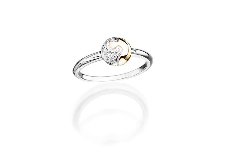 Geschenk zum Jahrestag - PUZZLE Ring Vela in 18kt Gold